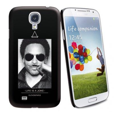 Coque Noire Toucher Gomme Licence Eleven Paris Motif Lenny Compatible Samsung Galaxy S4 i9505