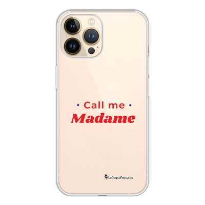 Coque iPhone 13 Pro 360 intégrale transparente Call Me Madame Tendance La Coque Francaise.