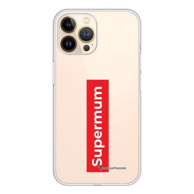 Coque iPhone 13 Pro 360 intégrale transparente SuperMum Tendance La Coque Francaise.
