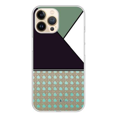 Coque iPhone 13 Pro 360 intégrale transparente Canage vert Tendance La Coque Francaise.