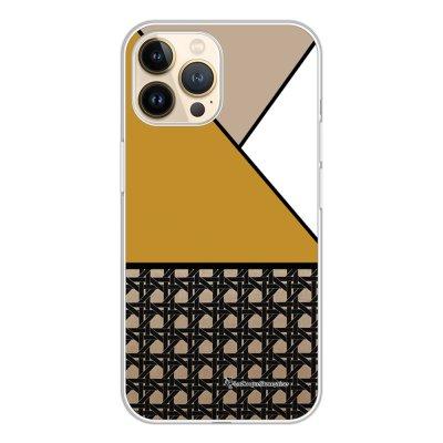 Coque iPhone 13 Pro 360 intégrale transparente Canage moutarde Tendance La Coque Francaise.
