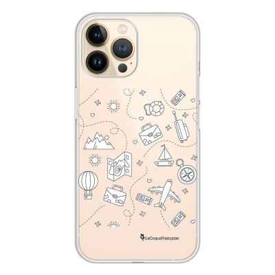 Coque iPhone 13 Pro 360 intégrale transparente Aventure Tendance La Coque Francaise.