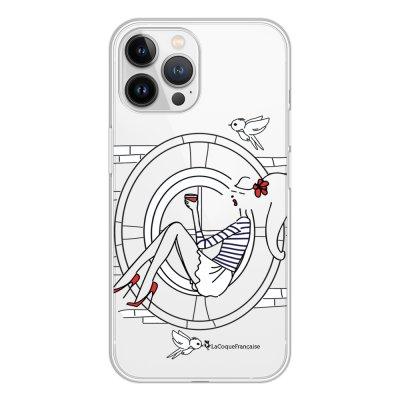 Coque iPhone 13 Pro Max 360 intégrale transparente Sur les Toits de Paris Tendance La Coque Francaise.
