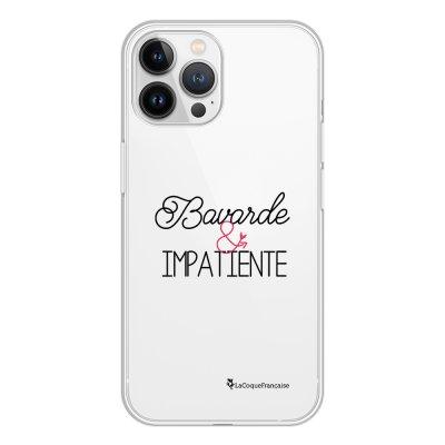 Coque iPhone 13 Pro Max 360 intégrale transparente Bavarde et impatiente Tendance La Coque Francaise.