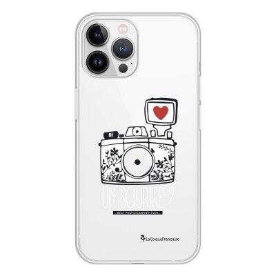 Coque iPhone 13 Pro Max 360 intégrale transparente Un sourire Tendance La Coque Francaise.