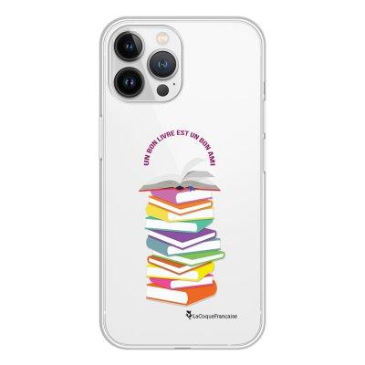 Coque iPhone 13 Pro Max 360 intégrale transparente Livres Tendance La Coque Francaise.