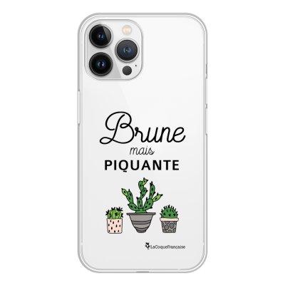 Coque iPhone 13 Pro Max 360 intégrale transparente Brune mais piquante Tendance La Coque Francaise.