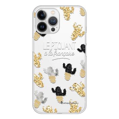 Coque iPhone 13 Pro Max 360 intégrale transparente Piquant à la Française Tendance La Coque Francaise.