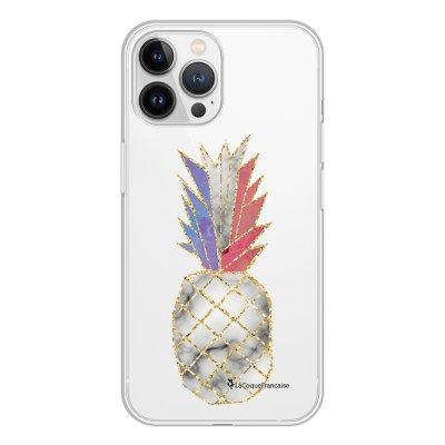 Coque iPhone 13 Pro Max 360 intégrale transparente Ananas à la Française Tendance La Coque Francaise.
