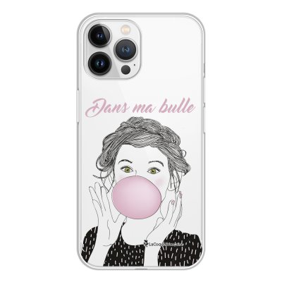 Coque iPhone 13 Pro Max 360 intégrale transparente Dans ma bulle Tendance La Coque Francaise.
