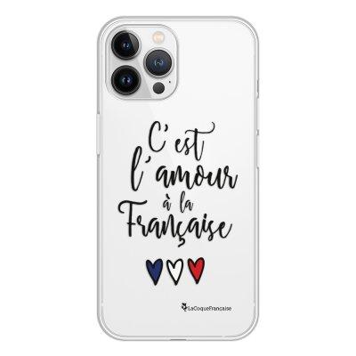 Coque iPhone 13 Pro Max 360 intégrale transparente C'est l'amour Tendance La Coque Francaise.