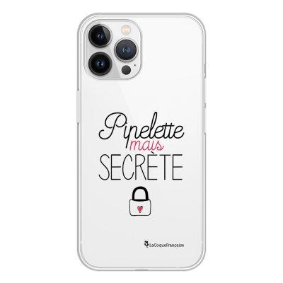 Coque iPhone 13 Pro Max 360 intégrale transparente Pipelette mais secrète Tendance La Coque Francaise.