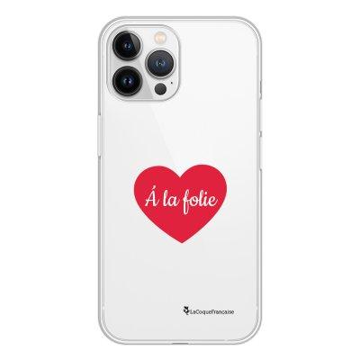 Coque iPhone 13 Pro Max 360 intégrale transparente A_la_folie Tendance La Coque Francaise.