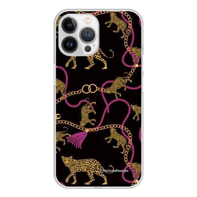 Coque iPhone 13 Pro Max 360 intégrale transparente Léopard et Chaines Tendance La Coque Francaise.