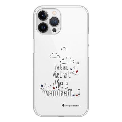 Coque iPhone 13 Pro Max 360 intégrale transparente Vive le vendredi Tendance La Coque Francaise.