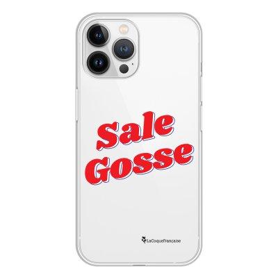 Coque iPhone 13 Pro Max 360 intégrale transparente Sale gosse rouge Tendance La Coque Francaise.