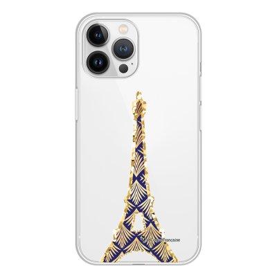 Coque iPhone 13 Pro Max 360 intégrale transparente Tour Eiffel Art Déco Tendance La Coque Francaise.