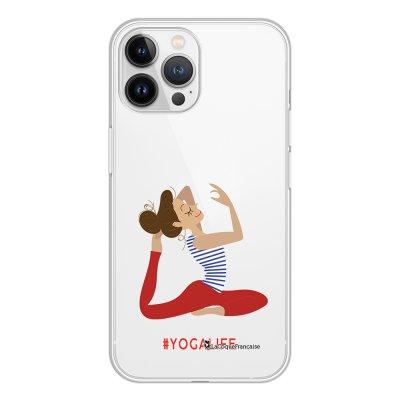 Coque iPhone 13 Pro Max 360 intégrale transparente Yoga Life Tendance La Coque Francaise.