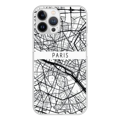 Coque iPhone 13 Pro Max 360 intégrale transparente Carte de Paris Tendance La Coque Francaise.