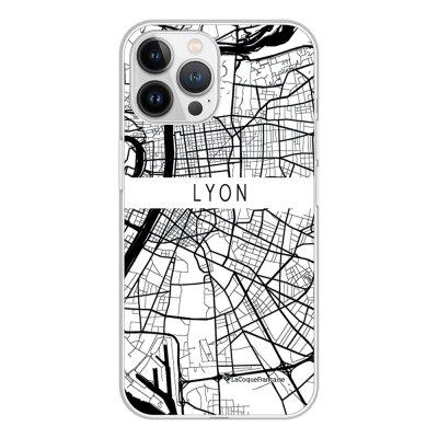 Coque iPhone 13 Pro Max 360 intégrale transparente Carte de Lyon Tendance La Coque Francaise.