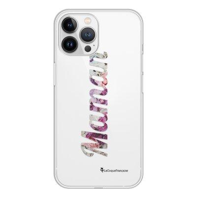 Coque iPhone 13 Pro Max 360 intégrale transparente Maman Fleur Tendance La Coque Francaise.