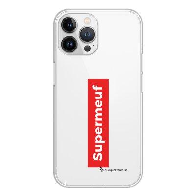 Coque iPhone 13 Pro Max 360 intégrale transparente SuperMeuf Tendance La Coque Francaise.