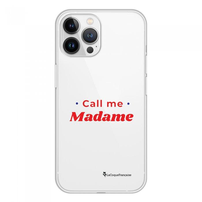Coque iPhone 13 Pro Max 360 intégrale transparente Call Me Madame Tendance La Coque Francaise.
