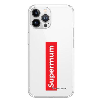 Coque iPhone 13 Pro Max 360 intégrale transparente SuperMum Tendance La Coque Francaise.