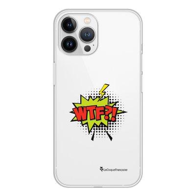 Coque iPhone 13 Pro Max 360 intégrale transparente WTF Tendance La Coque Francaise.