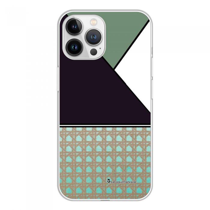 Coque iPhone 13 Pro Max 360 intégrale transparente Canage vert Tendance La Coque Francaise.