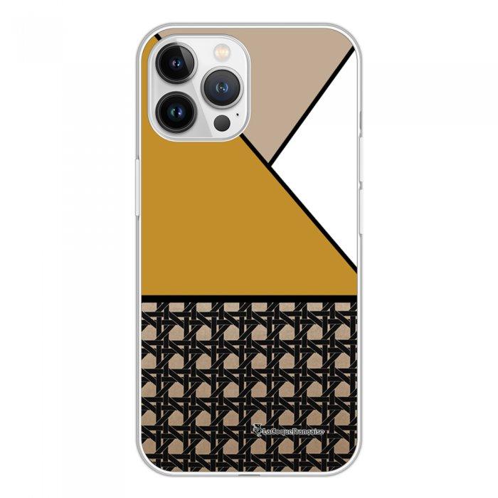 Coque iPhone 13 Pro Max 360 intégrale transparente Canage moutarde Tendance La Coque Francaise.