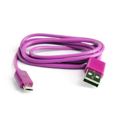 Câble USB violet pour Samsung Galaxy S 2, S 3, S 4 et Galaxy Note