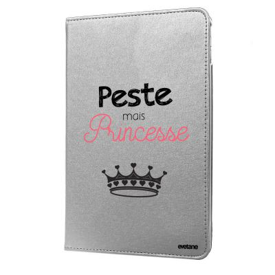 Etui rigide argent Peste mais Princesse iPad Air