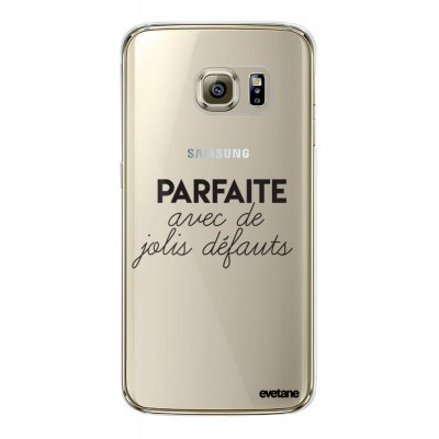Coque souple transparent Parfaite Avec De Jolis Défauts Samsung Galaxy S6