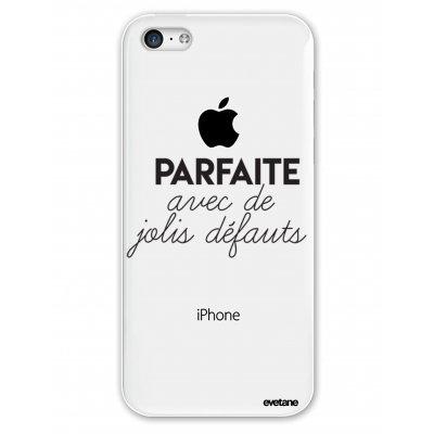 Coque souple transparent Parfaite Avec De Jolis Défauts iPhone 5C