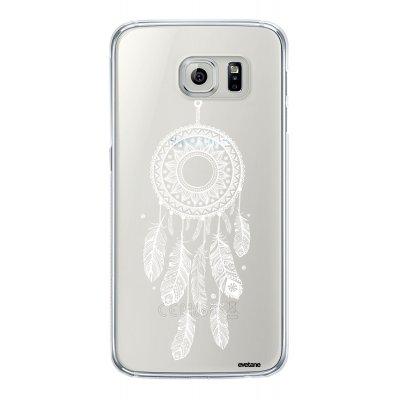 Coque souple transparent Attrape reve blanc Samsung Galaxy S6