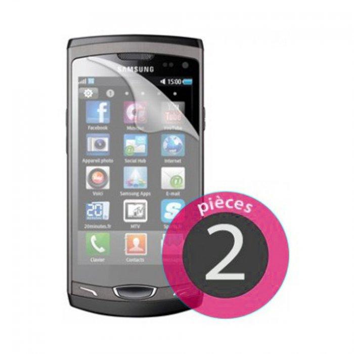 2 films protecteurs d'écran pour Samsung Galaxy Mini S5570
