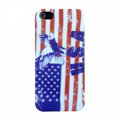 Coque rigide USA vintage STAX  pour iPhone 5
