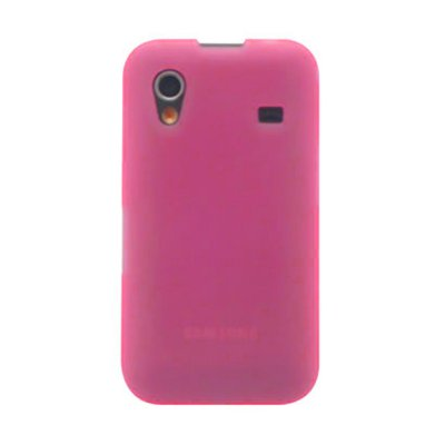 Coque minigel rose transparente pour Samsung Galaxy ACE S5830