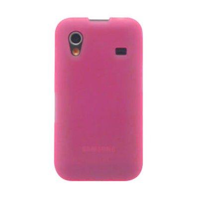 Coque minigel rose transparente pour Samsung Galaxy ACE S5830