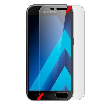Vitre protectrice avant en verre trempé 3D integrale incurvée pour Samsung Galaxy A5 2017
