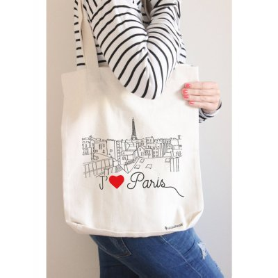 Shopping bag J'aime Paris