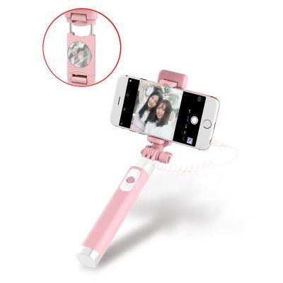 Perche selfie en stick 360° - Rose
