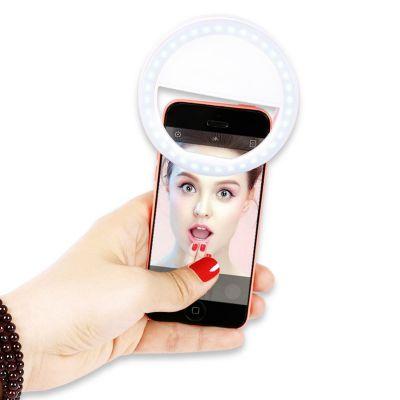 Anneau lumineu à LED universel pour Selfie
