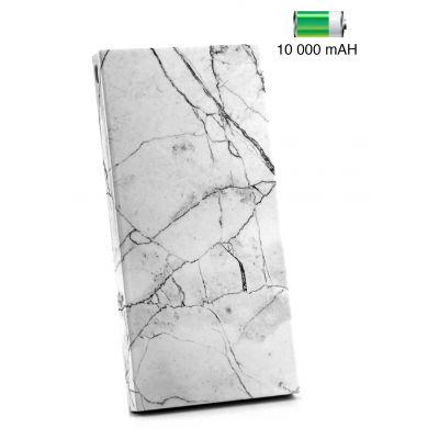 Batterie de secours en marbre blanc