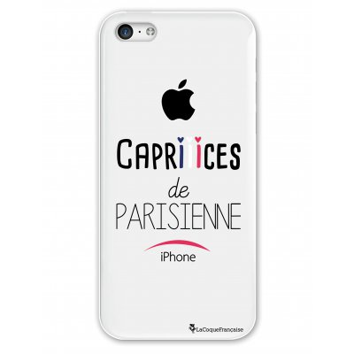 Coque rigide transparent Caprices de Parisienne iPhone 5C