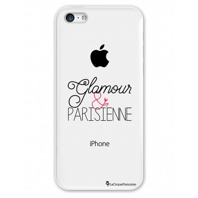 Coque rigide transparent Glamour et Parisienne iPhone 5C