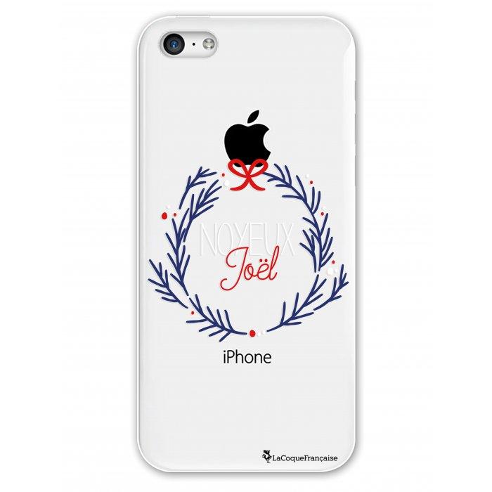 Coque iPhone 5C rigide transparente Noyeux Joël Dessin La Coque Francaise - Coquediscount