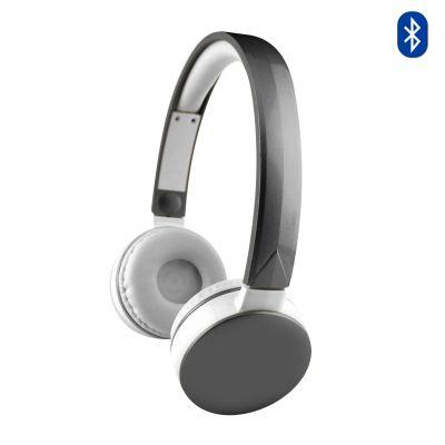 Casque audio-stéréo bluetooth argent