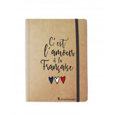 Carnet C'est l'amour à la française